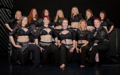 Sisters of Tribellica dance to raise money for MASKK and Amy's House