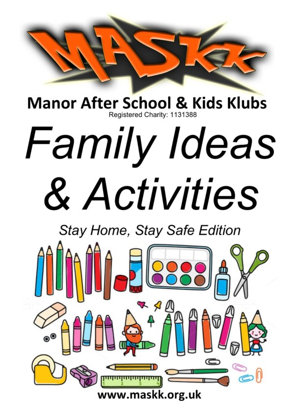 Family Ideas and Activities front cover